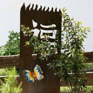 Firma Yabatech - Trennwand aus Stahl