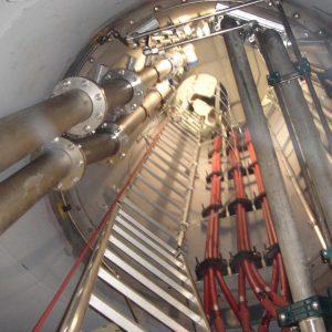 Yabatech / Turbinenverrohrung